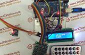 Système avec Arduino de saisie de mot de passe de matrice infrarouge