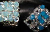 Voir comment faire un magnifique 4-Fleur cristal Ring