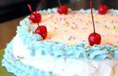 Des gâteaux de crème glacée