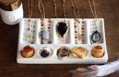 Accessoires-bonbons à la main couleur affichage bijoux DIY