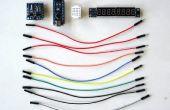 Arduino Nano et Visuino: 7 segments affichage horloge avec MAX7219 et DS1307 en temps réel Clock(RTC)