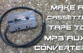 DIY cassette audio en MP3 aux