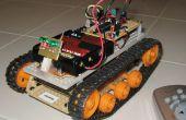 IR distance contrôlée sur chenilles Robot