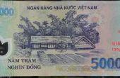 Détection argent vietnamien polymère contrefaçon