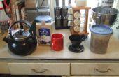 (légèrement) plus vert mode de préparation du café