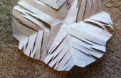 BRICOLAGE papier flocon de neige