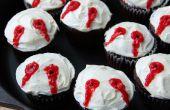 Cupcakes de morsure de vampire