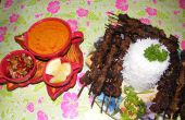 Satay de boeuf indonésienne (Sate Daging)