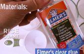 Comment rendre claire Slime (verre liquide)
