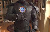 Costume homme de fer