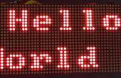Affichage à LED Arduino