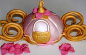 Disney Cendrillon transport Cake Topper