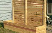 Comment construire multi-usage soulevées lit jardinières avec des panneaux de protection des renseignements personnels