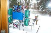 Robot de peinture fenêtre (arduino, traitement, accéléromètre)