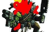 Warhammer 40k Ork Key ring !