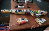 Fusil de sniper L96A1 k ' NEX + nouvel ajout le juge