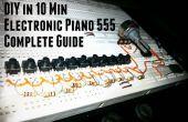 DIY électronique Piano 555