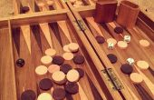 Comment faire un plateau de Backgammon en bois