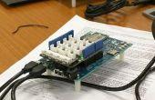 Station de Sun d'Edison Intel (UV et Temp) avec Python #IntelMakerMx