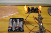 Comment construire un canal 5 simulateur de bougie LED flamme sans