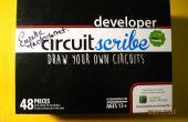 Création de puzzles électroniques éducatifs avec le kit de Circuitscribe et Circuitscribe éditeur de 123D