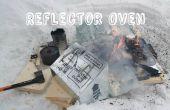 Four de réflecteur pour feux de camp