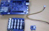 Capteurs avec tableau de bord Analytique IoT Intel (Intel Edison / C + c++ / Eclipse)