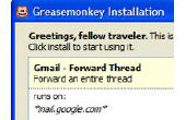 Comment faire pour installer des Scripts pour Greasemonkey