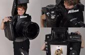 Costume de caméra entièrement fonctionnel