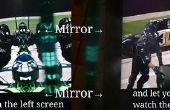 La méthode les plus pauvres pour regarder des vidéos en 3D stéréoscopiques...