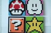 LEGO Mario Sprite mosaïques