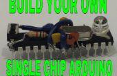 Comment faire un Arduino monopuce