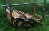 Étagères de stockage via la palette Recyclable en bois