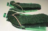 Les sandales d'errance Mans Simple à partir de bouteilles en plastique