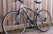 Comment faire pour remplacer le pneu de bicyclette avec broche de blocage rapide
