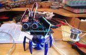 Hexagonale araignée Bug avec un cerveau (robot autonome)