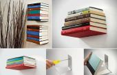 Transformer une étagère de n'importe quel livre