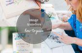 Comment faire pour transférer une Image de bois | Tutoriel de moyen de transfert d'image