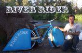 Moto nautique de rivière pilote