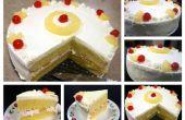 Gâteau de couche d'ananas