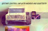 Geste car(robot) de contrôle avec Arduino et Android(bluetooth)