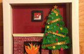 Comment faire une scène de Noël Shadowbox