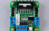 Arduino + L298 intégré au moteur et pilote