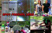 Lentille de Fresnel projection linéaire à repérer la Conversion
