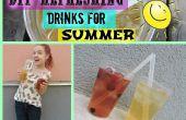 Des boissons rafraîchissantes bricolage pour l'été