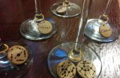 Molécule Wine Glass Charms