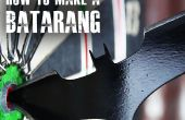 Comment faire un Batarang comme « The Dark Knight »