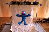 Groovin ' Grover : Une marionnette microcontrôleur à base