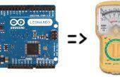 Voltmètre de Arduino secret