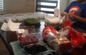 Préparation des repas hebdomadaire